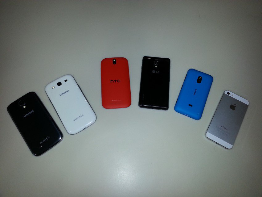 Cell Phone Comparison Review: Samsung, HTC, Nokia and iPhone