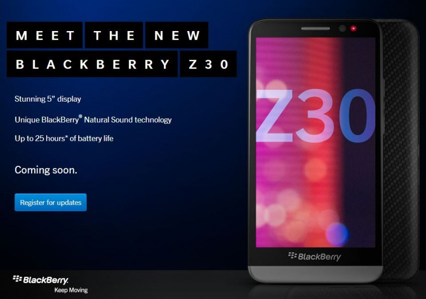 Blackberry Introduces Smartphone with 5-Inch Screen