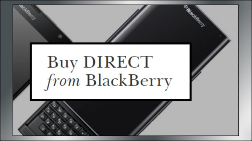 BlackBerry Direct Sales Woos Small Businesses and Companies With Cheap Unlocked Phones