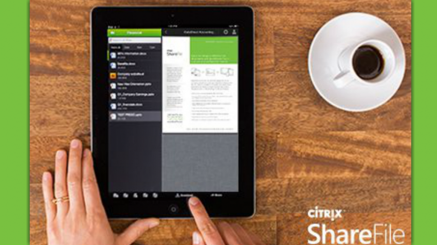 ShareFile Is Big Business-Grade File Sync and Share Solution Built for Small Business