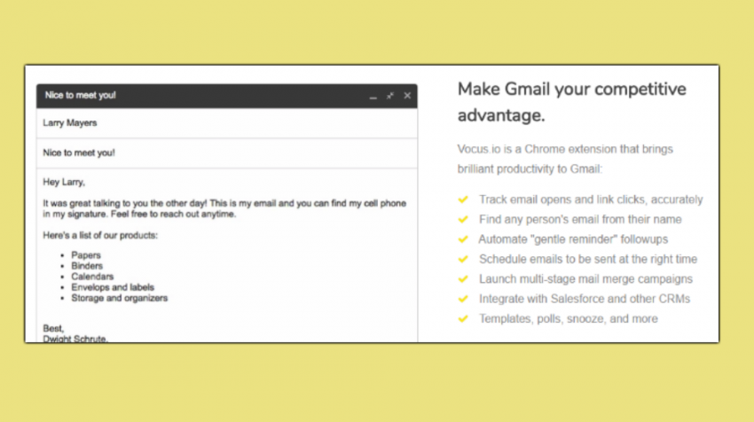 Vocus.io Chrome Extension Aims to Boost Email Productivity