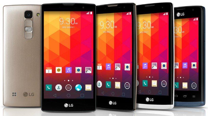 LG's Four New Phones, Premium Features at a Medium Price