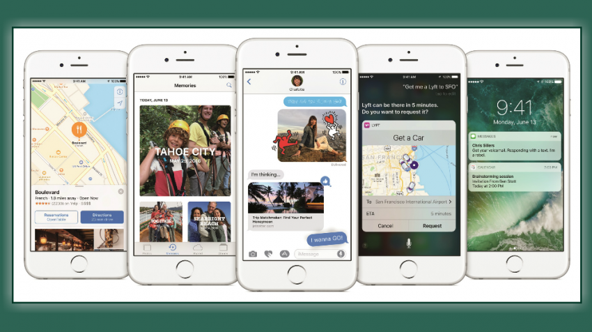 Apple Unveils iOS 10 Update with New 3D Touch Pop Ups, More