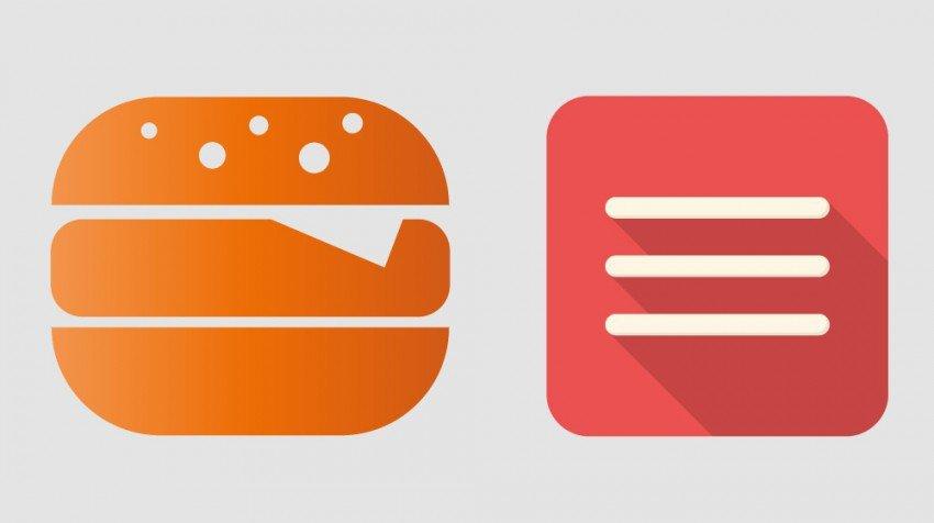 The 3 Line Menu Icon: What is a Hamburger Menu?