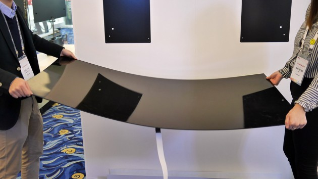 Witness the genius of LG's ultra-slim OLED TV wall mount