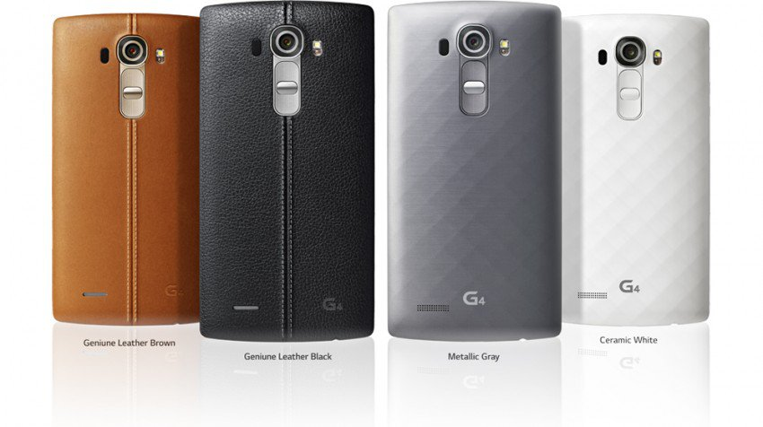 New LG G4 Smartphone Upgrades Camera and Adds Luxury