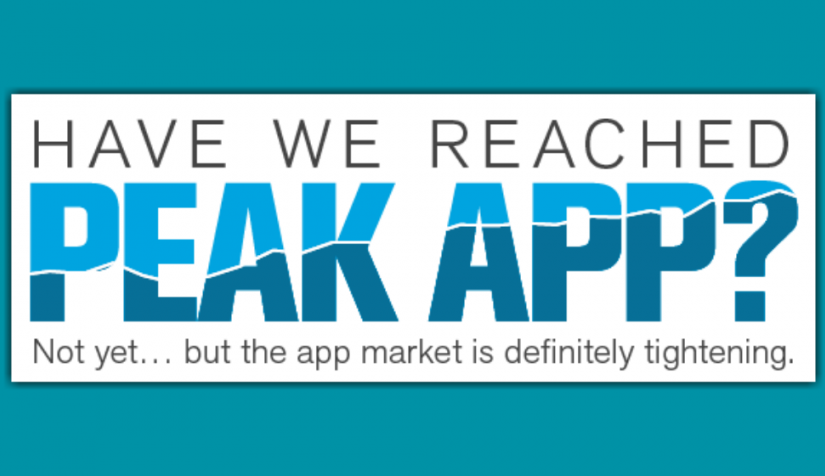 """Is the Mobile App Already Dead? comScore Says We're Nearing """"Peak App"""" (INFOGRAPHIC)"""