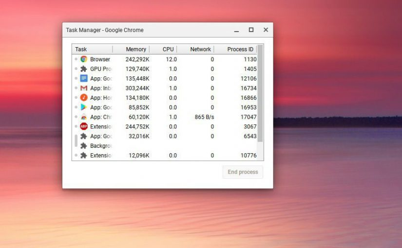 How to force quit apps on a Chromebook