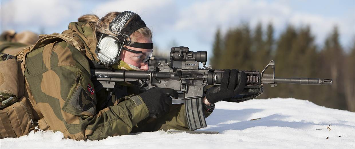 Inside the World's First All-Female Special Forces Unit Norway's Jegertroppen