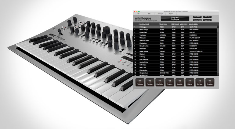Minilogue and Monologue gets some updates from mothership Korg