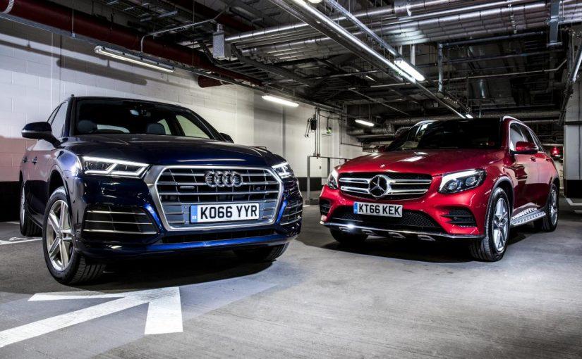 Quick twin test Audi Q5 vs Mercedes GLC