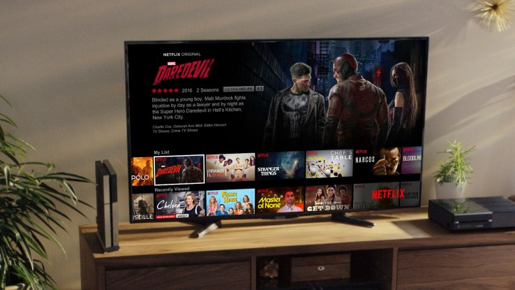 Netflix adds a screensaver to its TV apps to promote its original content