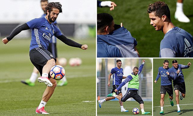 Real Madrid gear up for crucial Sevilla clash