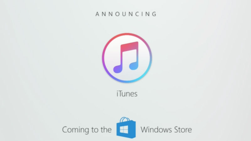 Windows Store to Get iTunes; Fedora, SUSE Linux, and Ubuntu Are Coming as Well