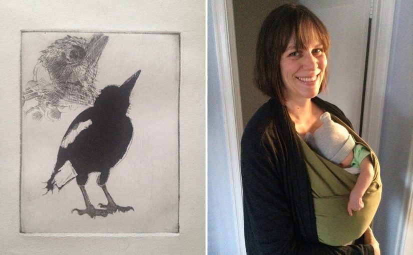Doctoral Student in Religion Delves into Printmaking for Insights on Suffering