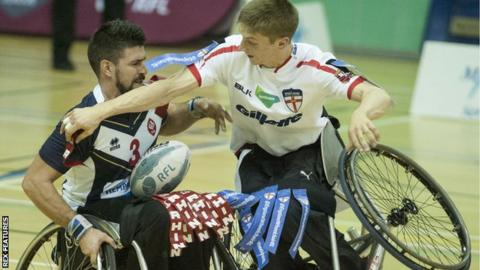 Wheelchair rugby league: Wales threaten to leave pitch at World Cup
