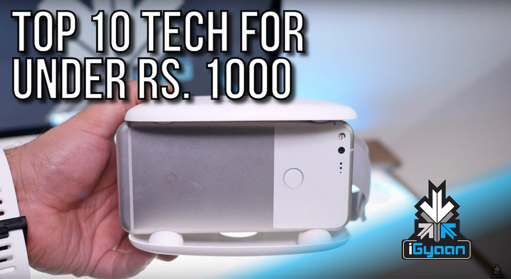 7 useful tech products and accessories under Rs 1,000
