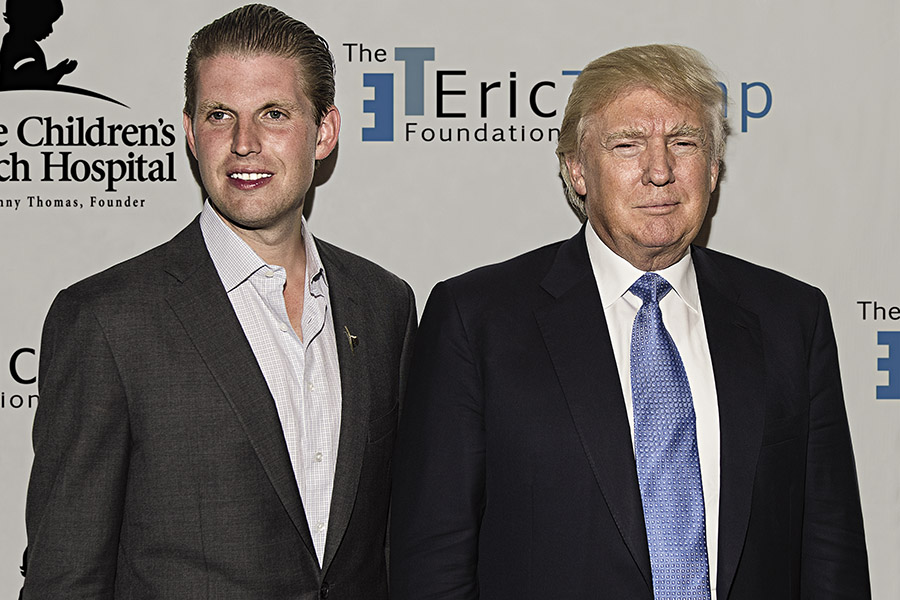 How Donald Trump filled his company coffers with charity money