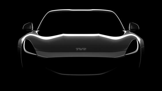 World exclusive image: the new TVR supercar
