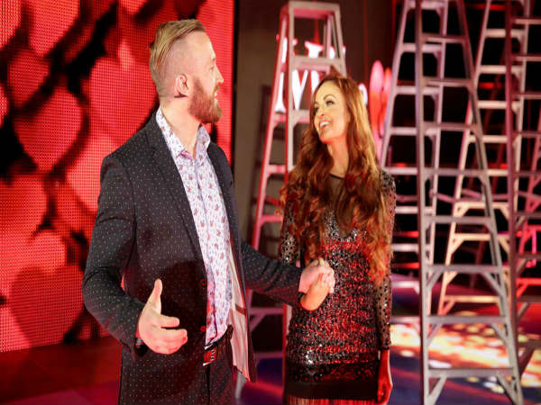Creative planning with Mike and Maria Kanellis in the WWE