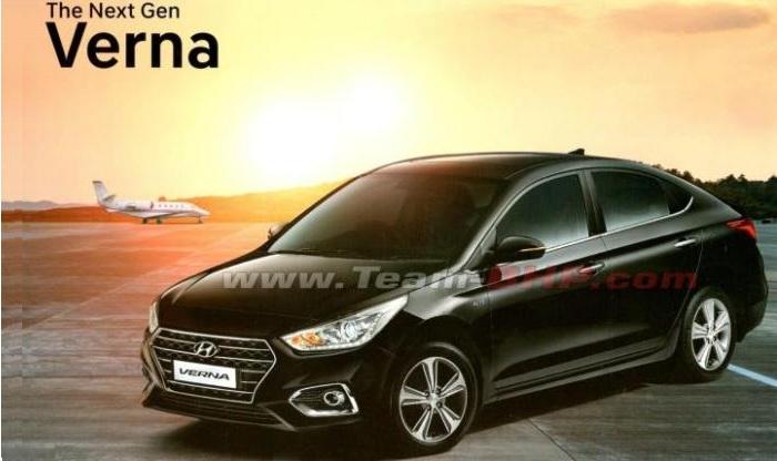 New Hyundai Verna 2017 Brochure Leaked Ahead of India Launch