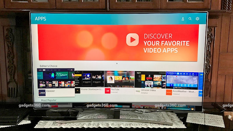 Samsung Q8C 55-Inch 4K HDR QLED TV 2017 Review
