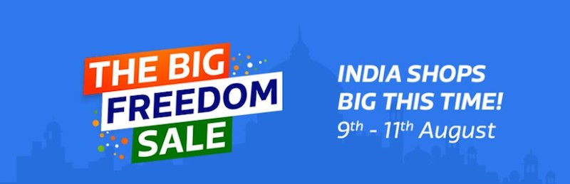 Flipkart Big Freedom Sale Offers: iPhone 7, iPhone 6s, Sony LED TVs, Android Mobiles, and More