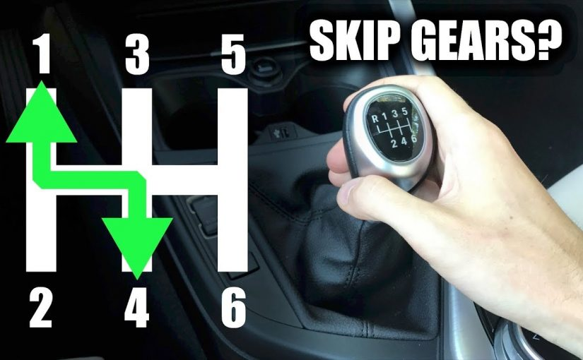 Is it okay to skip gears on a manual transmission?