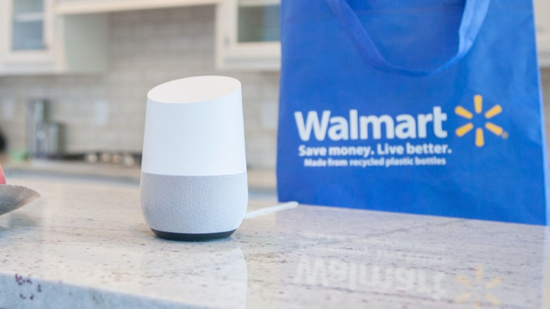 Walmart Partners Google to Launch Voice-Activated Shopping