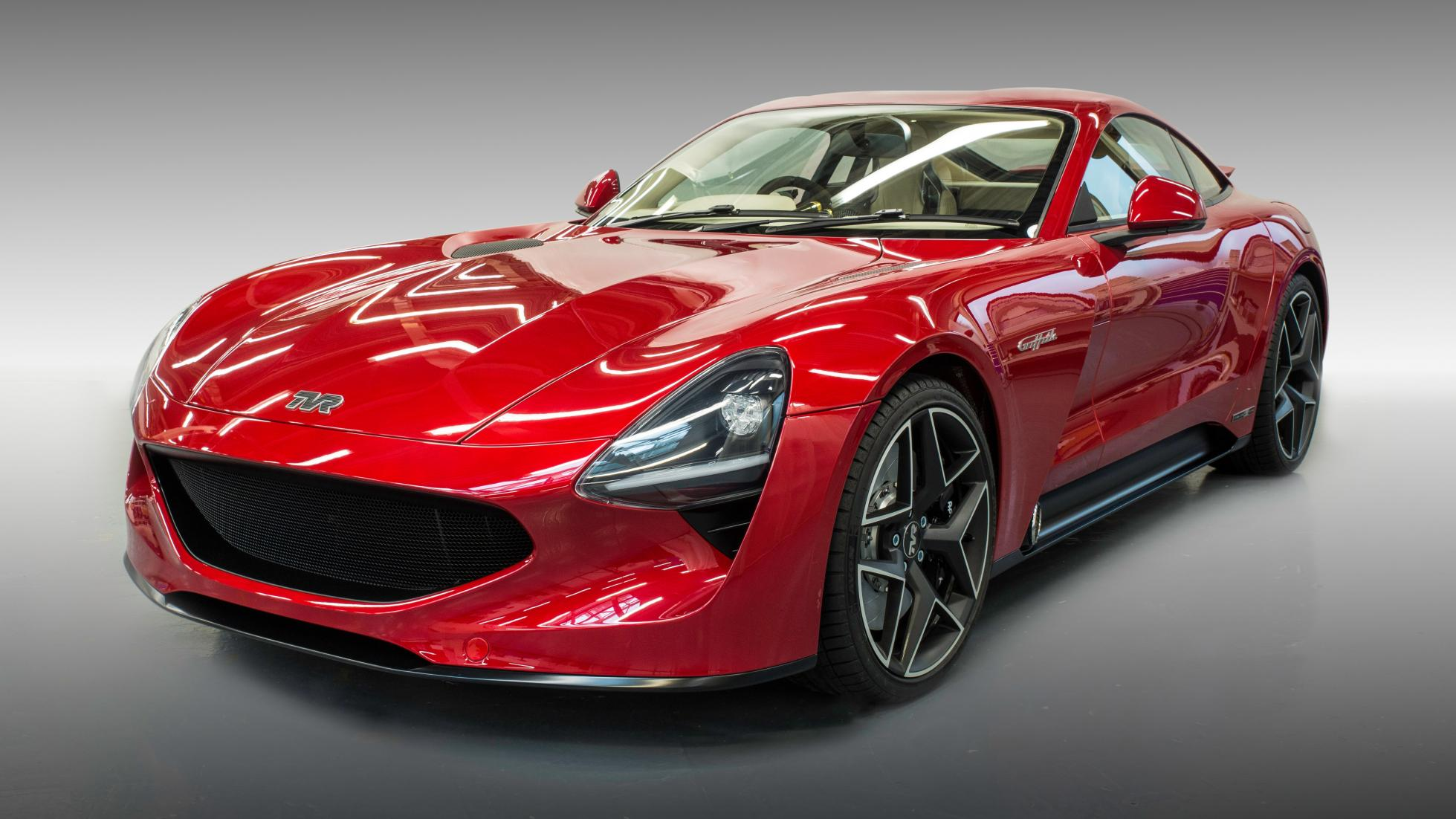 TVR is back! Meet the brand new Griffith