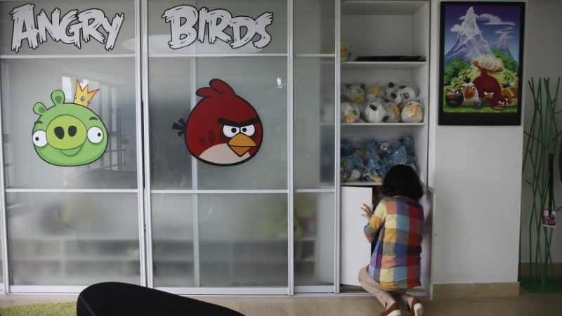 Angry Birds Maker Posts Loss Despite Jump in Sales
