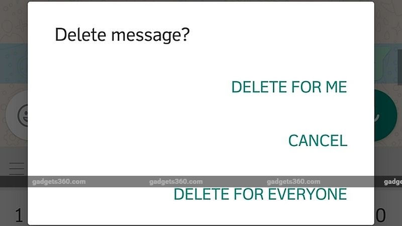 WhatsApp: Deleted Sent Messages Can Still Be Read by Recipients