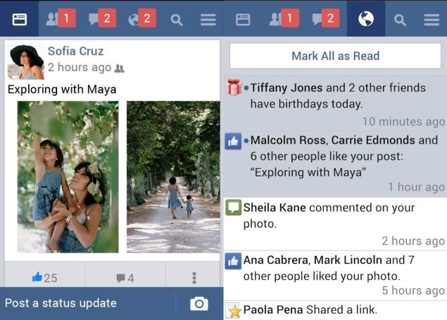 Facebook Lite for Android Review: Made for India - Triadoro