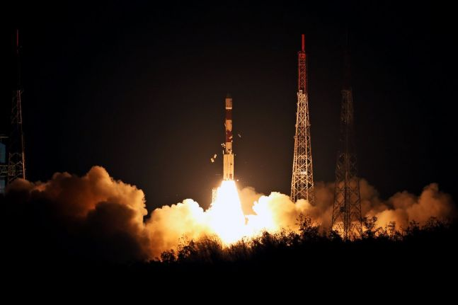 PM Narendra Modi congratulates ISRO for launch of navigation satellite IRNSS-1I