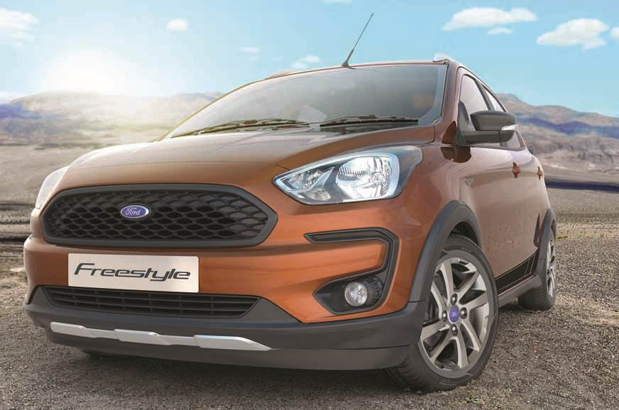 Ford Freestyle India launch on April 18, 2018
