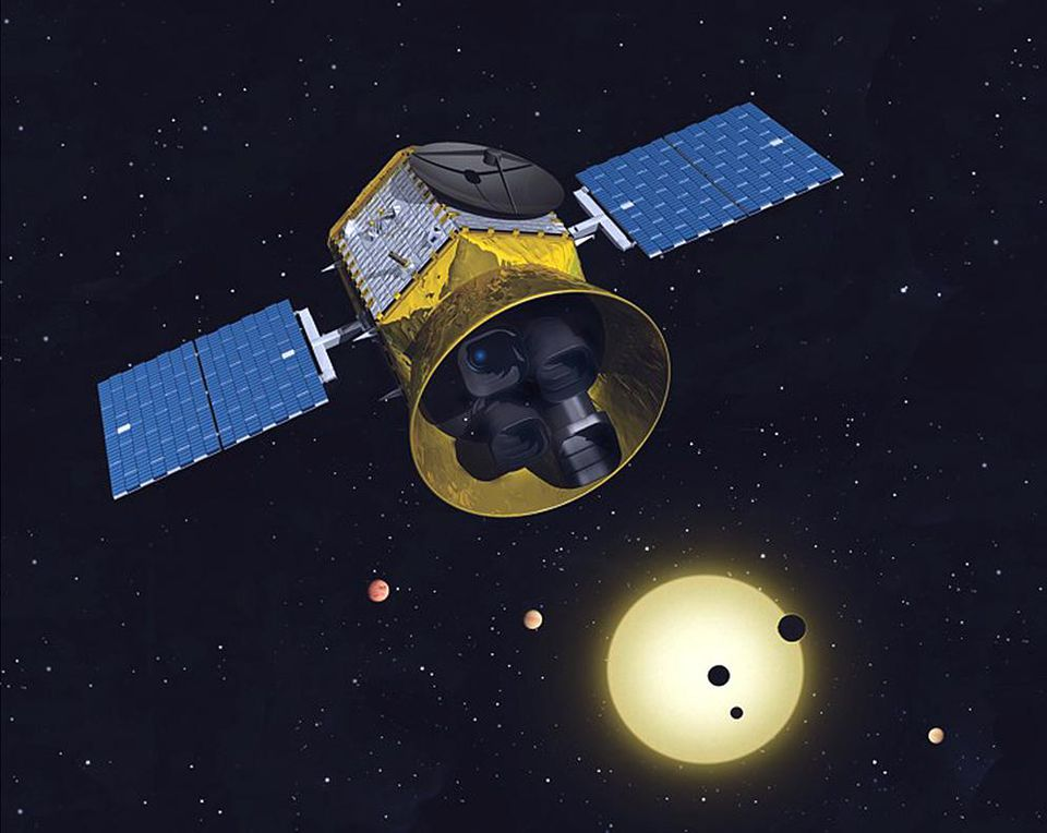 Watch The Launch: NASA's TESS Blasts Off From Cape