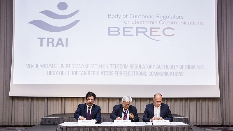 TRAI, BEREC Sign Memorandum on Preserving, Promoting Net Neutrality Rules