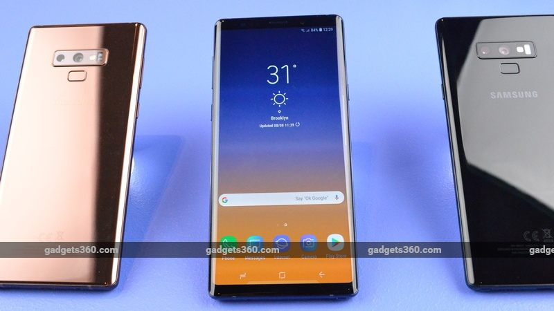 Samsung Galaxy Note 9 First Impressions