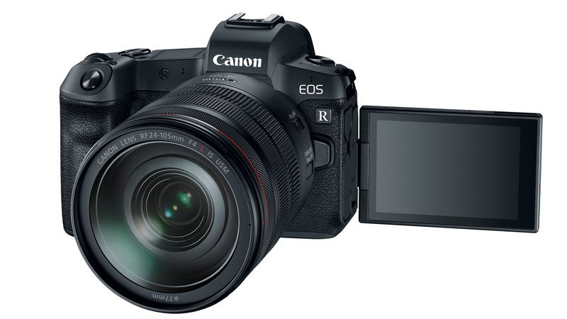Canon EOS R Full-Frame Mirrorless Camera With 30.3-Megapixel Sensor, 4K Video Recording Launched