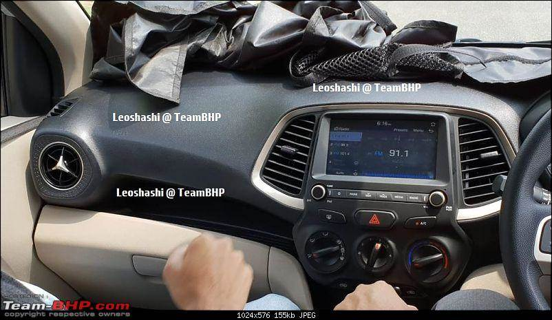 New Hyundai Santro interior leaked ahead of launch