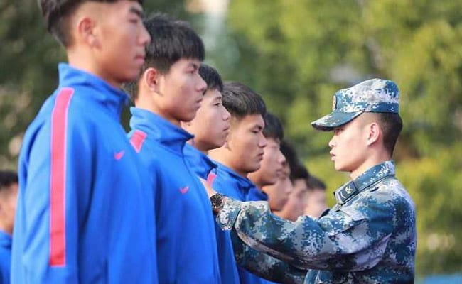 """Militarisation Of Football"": Army Training, Drills For Chinese Players"