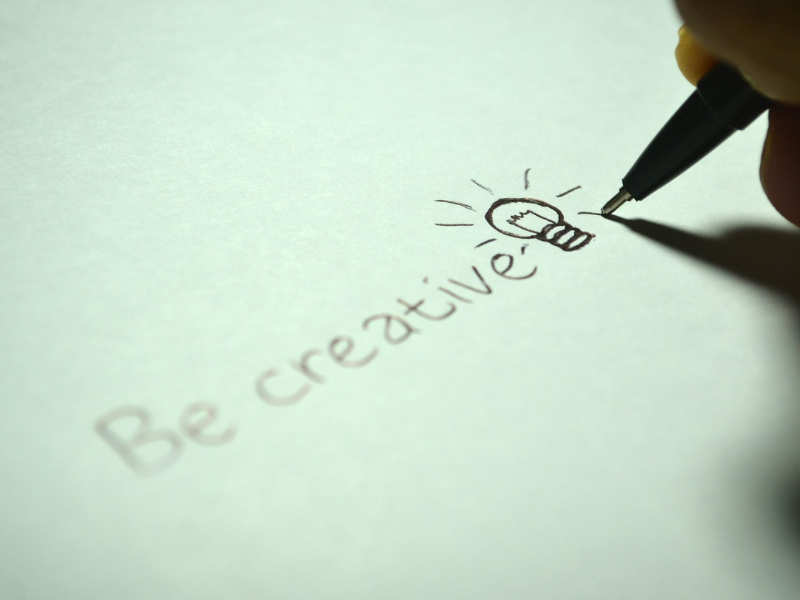 Want to be creative? Follow these simple tricks