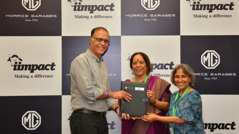 MG Motor India contributes towards girl child education using proceeds from Hector sales