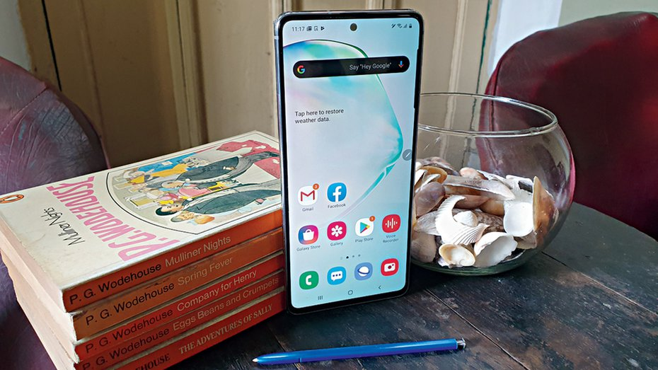 Galaxy Note10 Lite: cheaper, cheerful and creative